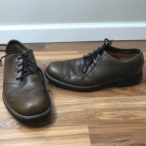 Timberland Brown Leather Waterproof Oxfords 12M